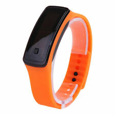 LED Fashion Men Women Waterproof Bracelet Rubber Digital Watch Sport Wristband