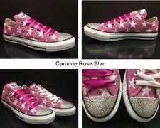 Zapatillas deportivas de mujer Converse de color principal rosa de lona