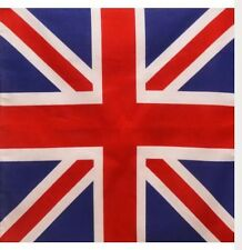 Bandana - English British Empire Union Jack Flag Style 100% Cotton 55x55cm
