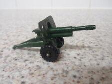 Vintage Army Die Cast Field Gun