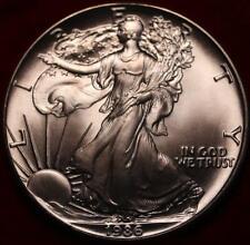 Uncirculated 1986 American Silver Eagle Dollar