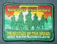 OA 2013 Section NE-6B NE6B Conclave Event Patch MINT! Lodges 5 XI 11 22 39 317