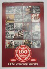 Dr Pepper 1985 Centennial Calendar - BRAND NEW & FREE SHIPPING