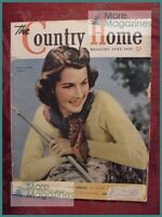 The COUNTRY HOME June 1939 LESLIE WHITE CLARK BODEY GEORGE LORRAINE GEORGE KENT