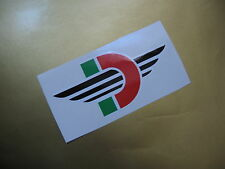 DUCATI motorcycle sticker/decal x2
