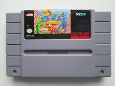 Push-Over (Super Nintendo, 1992) Game Only--Tested (Ocean) NTSC/US/CA