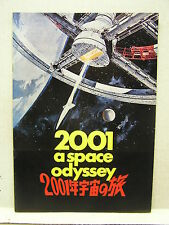 Vintage 2001:A Space Odyssey Japanese Program Book- Softcover w Photos  (L9685)