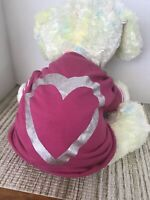 BNWT East Side Collection XS Pink Heart Dog Shirt