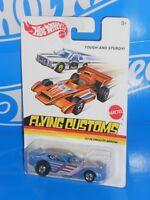 Hot Wheels 2013 Flying Customs Series Hare Splitter Dark Blue w// HOs 1:64 HTF