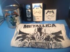 METALLICA Fan Can #1 1996 COMPLETE w/ CD, VHS, Bottle Opener & L Shirt - RARE