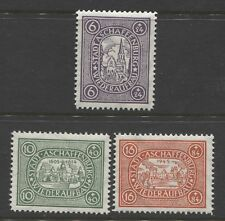 1946 GERMANY , POST WAR LOCALS , Aschaffenburg  complete set  mint**