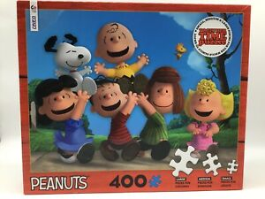 """Peanuts Together Time Puzzle 400 Piece Puzzle By Ceaco 24"""" x 18"""""""