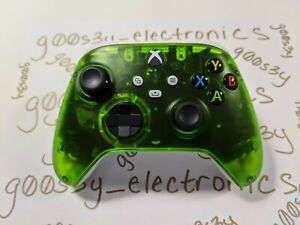 NEW Custom Xbox Series One / X / S Frosted Green Wireless Controller