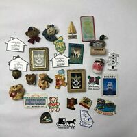 Lot Of 28 Vintage To Now Fridge Magnets Collectible