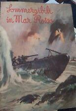 Pietro Caporilli Sommergibili in Mar Rosso Disegni dal vero del Tenente del Geni