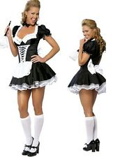 Sexy Adult French Maid Costume - Fancy Dress Cosplay Uniform Outfit C8