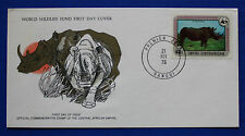 C.A.R. (323) 1978 Endangered Animals - Rhinoceros WWF FDC