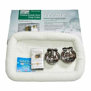 """Midwest iCrate Dog Crate Kit Medium 30"""" x 19"""" x 21"""""""