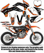 2005-2007 KTM EXC 300 400 450 525 Grafica Set Deco Calcomanie MX Adesivi 2006