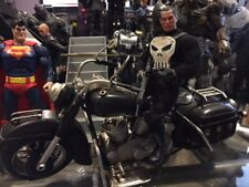 One 12 Punisher Motorcycle for 6 or 7 inch action figures 1/12 scale Motorcycle