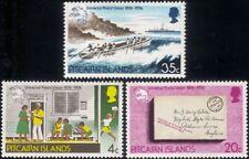 Pitcairn Islands 1974 UPU Anniversary/Letter/Ship/Boat/Post Office 3v set n46235