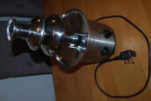 CF50 Chocolate Fountain  3 tier stainless steel 250-350W excellent condition