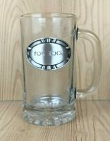 YOU ROCK Clear Glass TR Fine Pewter Beer Mug