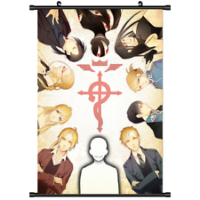 Anime Fullmetal Alchemist Brotherhood wall Poster Scroll cosplay 3225