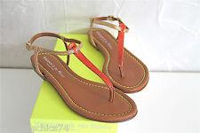 sandales sandals coral/gold VISCONTI DU RÉAU size 41 eu 9,5 us 7,5 uk val.  240€