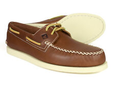 Sperry A/o Wedge Tan Leather Mens Boat Shoes STS13160 UK 8