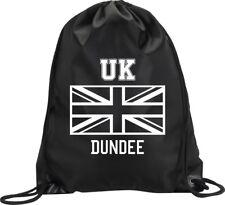 BACKPACK BAG DUNDEE UK UNITED KINGDOM UNION JACK GYM HANDBAG SPORT M1