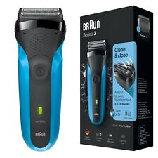 Braun 310s Series 3 Mens Rechargeable Electric Face Stubble Shaver Razor Wet&Dry