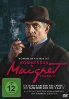 KOMMISSAR MAIGRET-STAFFEL 2-ATKINSON,ROWAN/DINGWALL,SHAUN/COHU,LUCY/+ DVD NEU