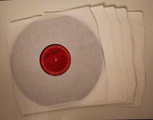 """Sous pochettes en papier pour vinyles - 12"""" 33 tours - 308 x 303 mm - 100 unités"""