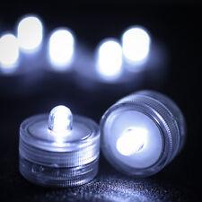 12PCS Submersible LED Waterproof Tea Light Candle Battery Operated Wedding Decor
