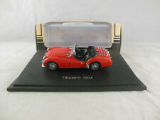 "Jouef evolution Ref 1057 Triumph TR3A in Red RHD 1:43 Scale ""Series Legends"""