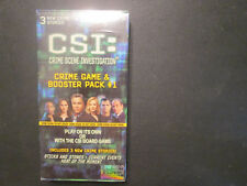 CSI: Crime Game & Booster Pack 1