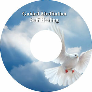 Guided Meditation Self Healing CD & Affirmations Healing Leaflet Stress Relief