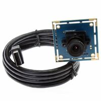 0.3MP CMOS OV7725 Free Driver VGA USB Video Camera Module Board 2.8mm Lens New