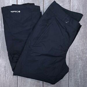 Columbia Modern Mountain 2.0 Snow Ski Pants Womens Plus 2X Black Bootcut J1316