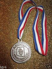 Arizona Police Olympics Silver Winning Medal