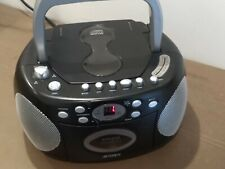 Jensen CD-540 Portable Stereo Compact Disc Cassette Recorder with AM/FM Radio CD