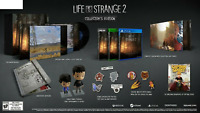 "Life is Strange II 2 Collector's Edition PS4 + 7"" Vinyl + Figures + Art Book"