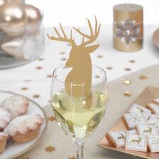 Decorazioni natalizie Natale oro per la tavola