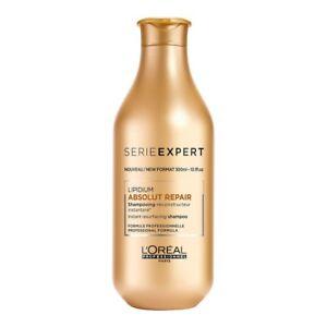 Shampooing cheveux très abimés ABSOLUT REPAIR 300ml L'Oréal Professionnel