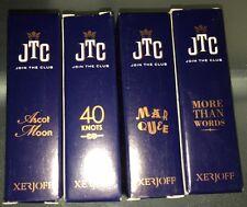 XERJOFF Perfume 4-Sampler Boxed Spray 2 ml  (#1) Assorted Scents BNIB FREE SHPG