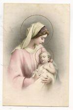 LA VIERGE MARIE ET L'ENFANT JESUS .THE VIRGIN MARY AND THE CHILD JESUS.