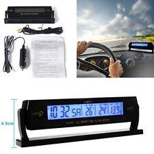 Auto Car Multifunction Digital Voltage Clock Temperature LCD Meter Monitor Alarm