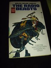 THE RADIO BEASTS BY RALPH MILNE FARLEY ACE SCIENCE FICTION Paperback