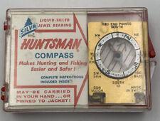 Silva Huntsman Compass Vintage In Original Packaging With Paperwork Sweden 20-J